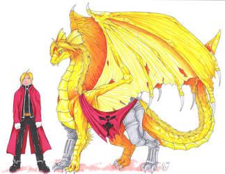 FMD: Edward Elric by RaptorBarry