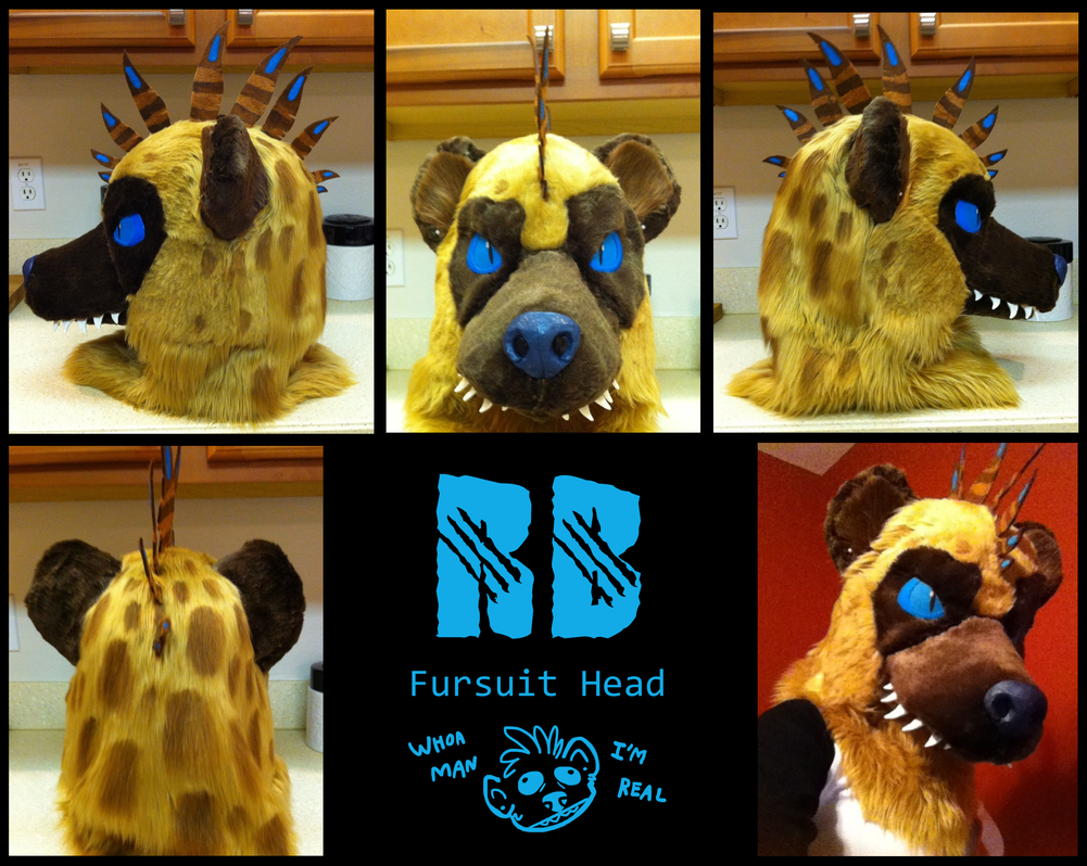 RB Fursuit Head by RaptorBarry