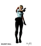 SILENT HILL - Cybil is possessed