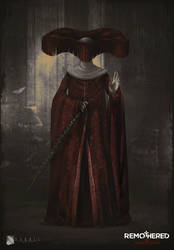 REMOTHERED: Tormented Fathers - Red Nun by Chris-Darril