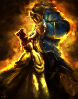 BEAUTY AND THE BEAST -Rising in the East (Updated) by Chris-Darril