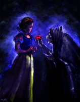 SNOW WHITE and the 7 Dwarfs - Wishing Apple by Chris-Darril