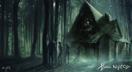 Project Scissors: NightCry - To the shed by Chris-Darril