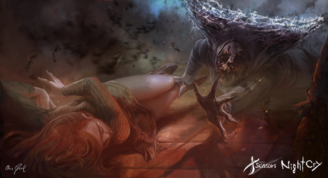Project Scissors: NightCry - Come to me, Rooney! by Chris-Darril