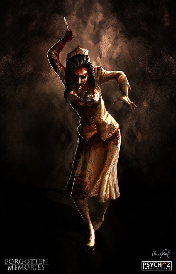 FORGOTTEN Memories - Design (Bloody Nurse) by Chris-Darril