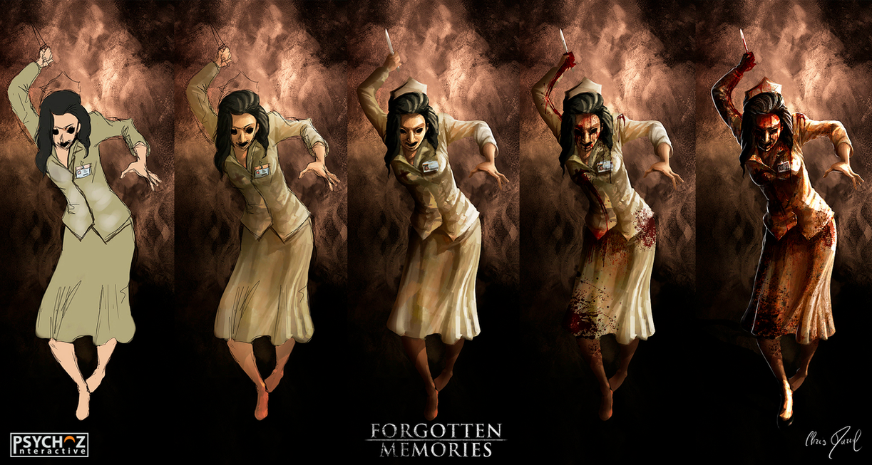 FORGOTTEN Memories - Step By Step (Bloody Nurse) by Chris-Darril
