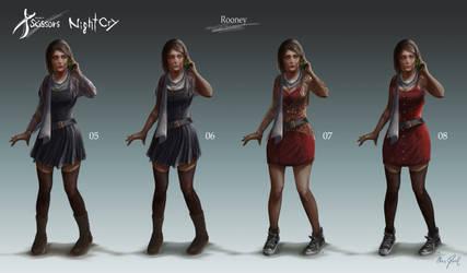 Project Scissors: NightCry - Rooney Design 02