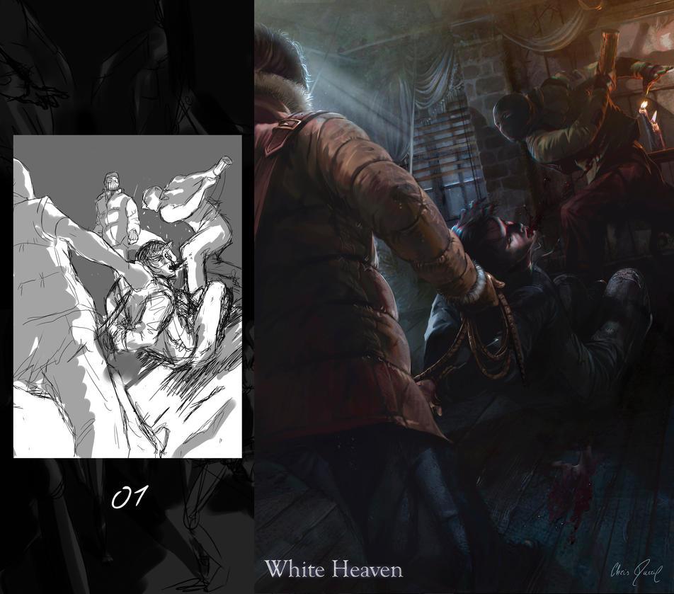 'WHITE HEAVEN' - Eric Blanc (Tries) by Chris-Darril