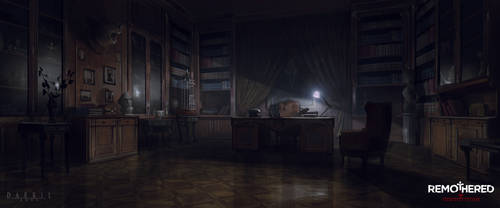 REMOTHERED: Tormented Fathers - Felton's Study V1 by Chris-Darril