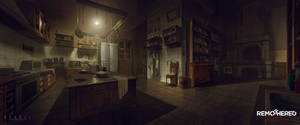 REMOTHERED: Tormented Fathers - Kitchen (Concept)