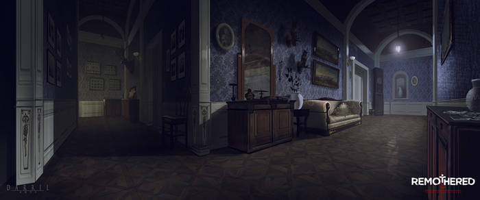 REMOTHERED: Tormented Fathers - EastWing (Concept) by Chris-Darril