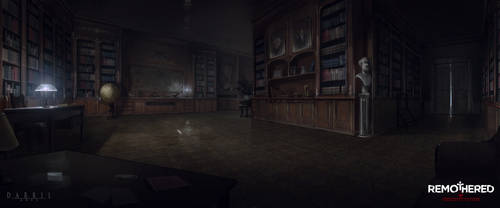 REMOTHERED: Tormented Fathers - Library (Concept)