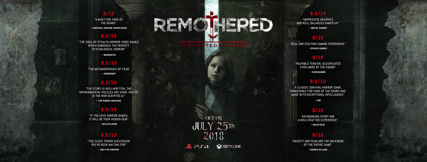 REMOTHERED: Tormented Fathers - PS4 XboxOne Launch by Chris-Darril