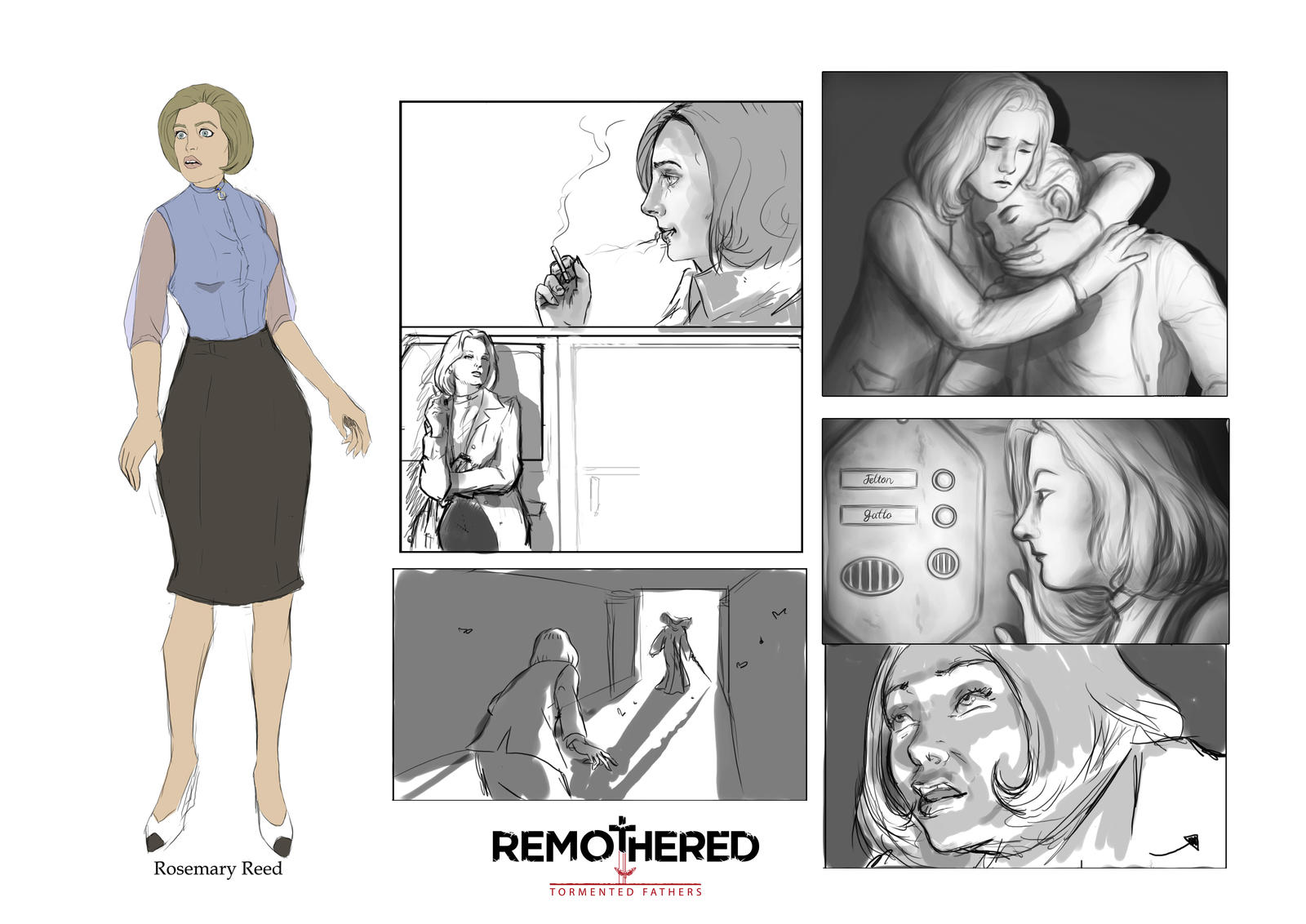 REMOTHERED: Tormented Fathers - Rosemary Reed