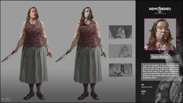 REMOTHERED: Broken Porcelain - Andrea M. Design