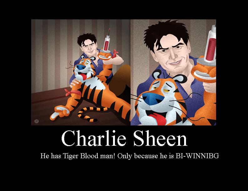 charlie sheen tiger blood video