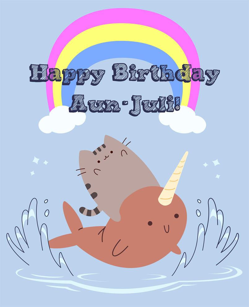 browsing vector on deviantart, Birthday card