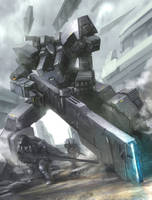 Rail gun take cover!! by matgyro