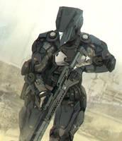 Medium range combat exosuit. by matgyro