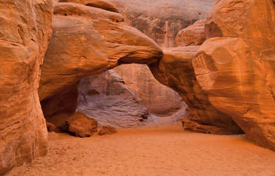 Sand Dune Arch by eDDie-TK