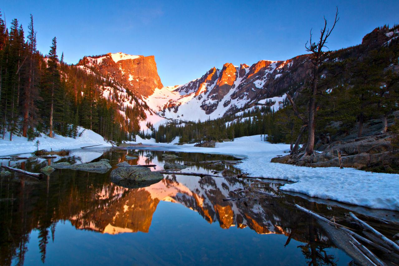 Dream Lake And Hallett Peak By Eddie Tk On Deviantart