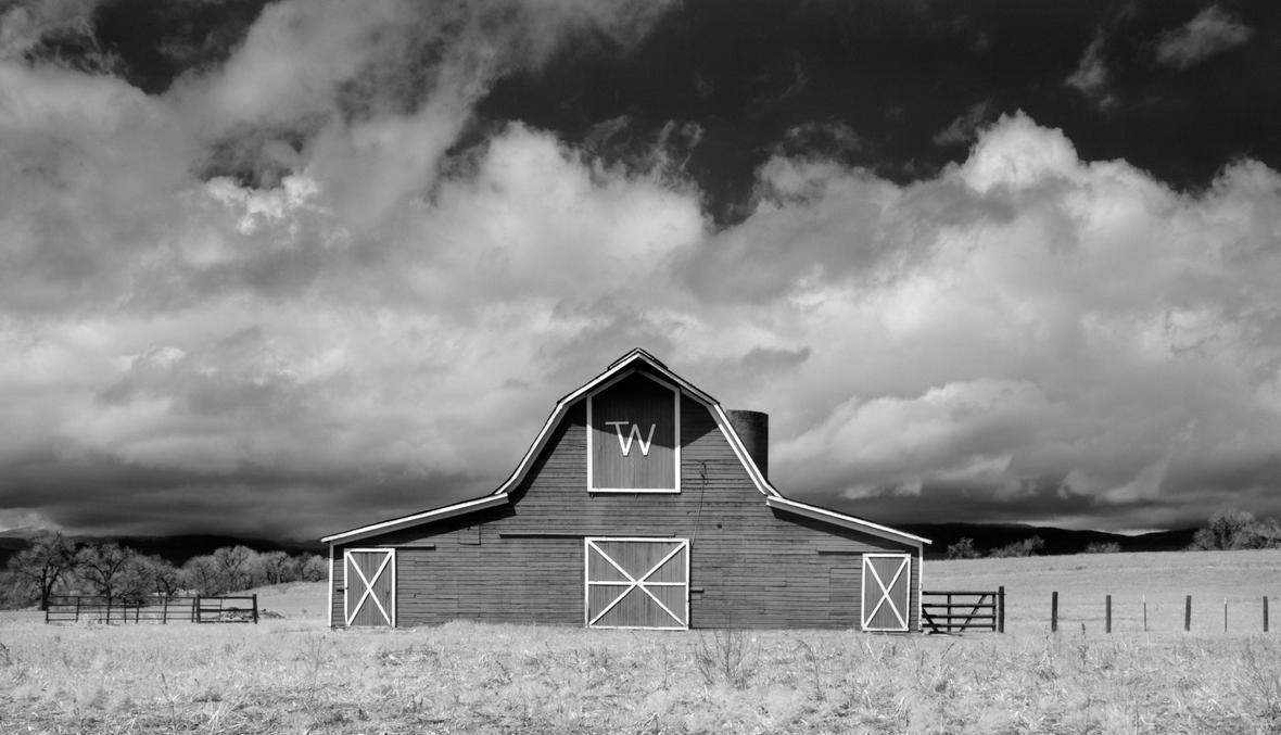 the Tom Wishman Barn - Infrared by eDDie-TK