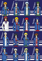New Characters for Tales of Y-Gakuen by M31rU-Ch4N