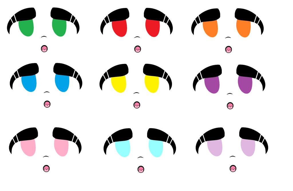 Eye Sprites OOF by Hoodie-Masky