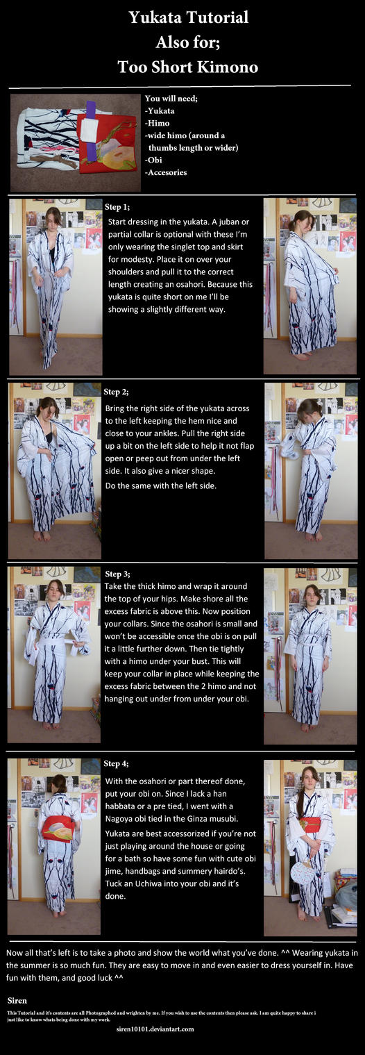 yukata and too short  dressing by siren10101