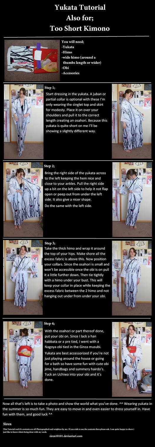 yukata and too short  dressing by siren10101