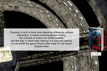 Diversity in Scifi (quote from interview)