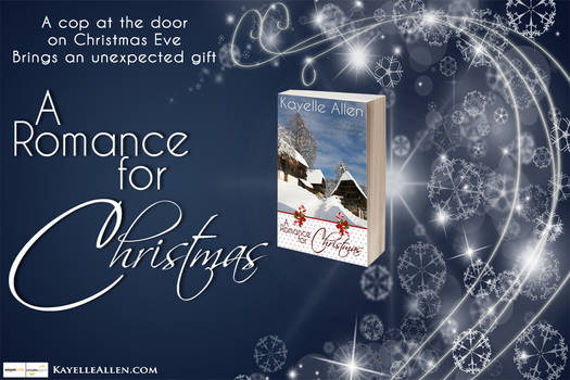 Banner:  A Romance for Christmas (blue)