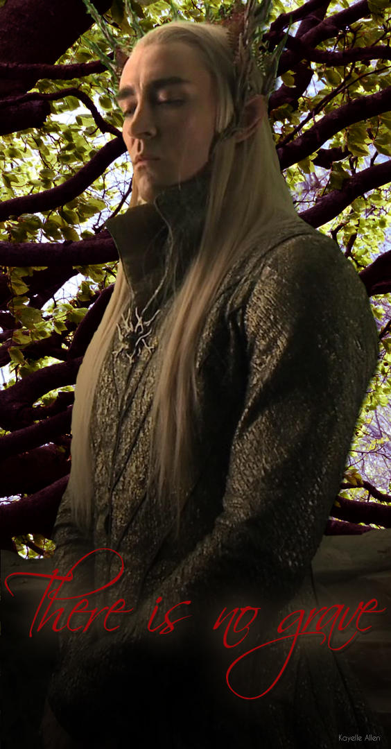 Thranduil: There is no grave...