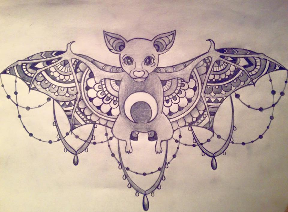 Image Result For Sternum Tattoo On Tumblr