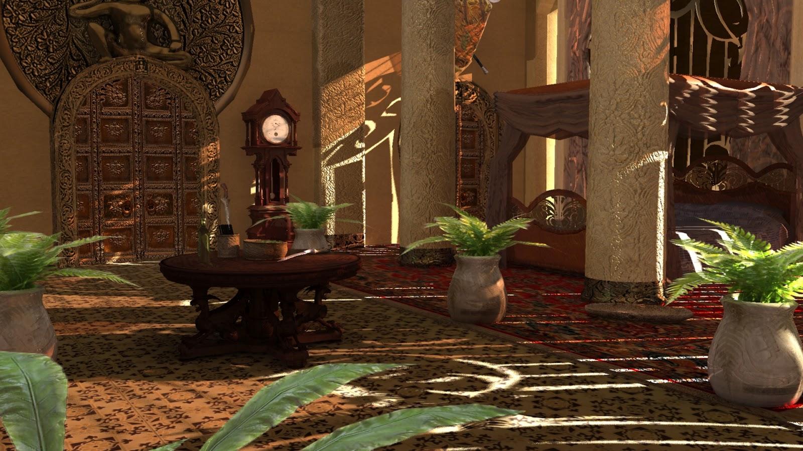 exotic royal bedroom larger by videshii on deviantart