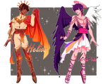 [CLOSED TY] Helios and Icarus Adoptables [Auction]