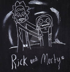 Rick and Morty day 3 by SlothLife14