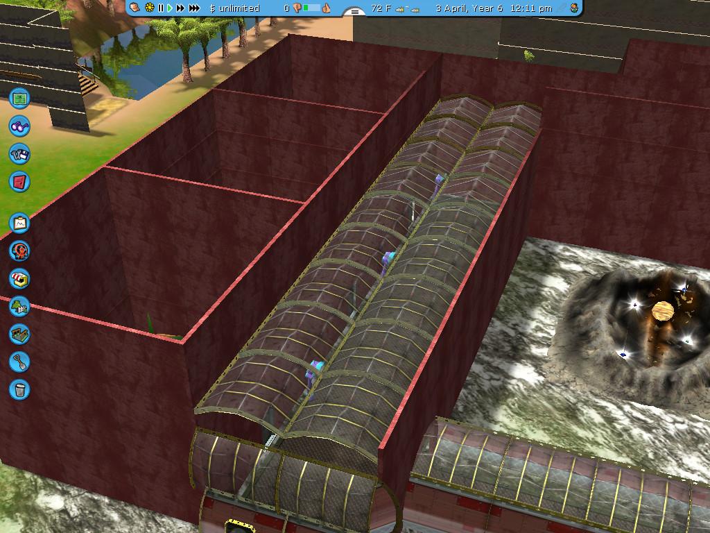 Crystal Maze: RCT3 Recreation: Futuristic Zone by IAmJonnie