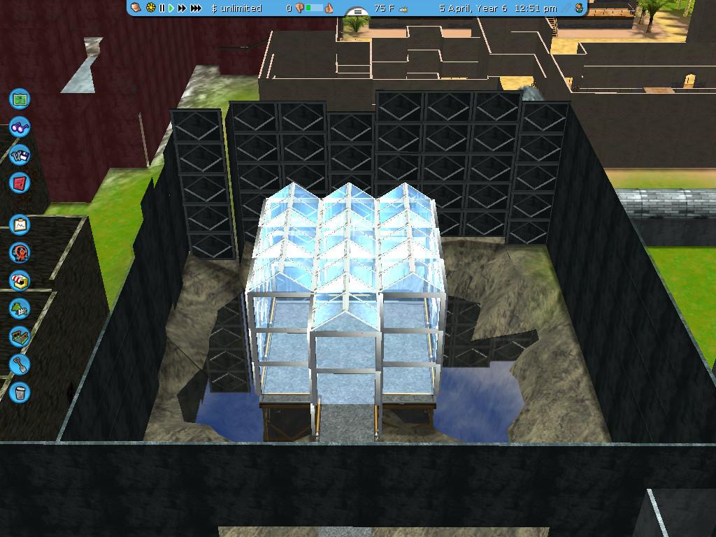 Crystal Maze: RCT3 Recreation: Crystal Dome by IAmJonnie