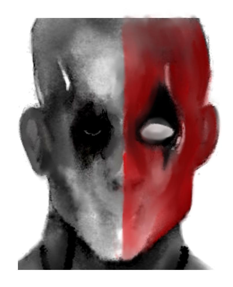 Xmen Origins Wolverine Deadpool v Comic Deadpool by lolzman97X Men Deadpool Drawings