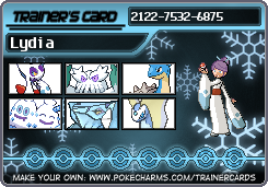 Ice Type gym leader trainer card by TeenBeat