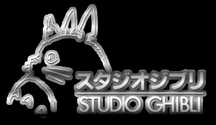 Studio Ghibli Logo Silver by Finalfo