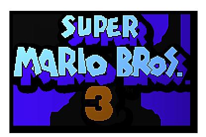 Super Mario Bros 3 Logo by Finalfo