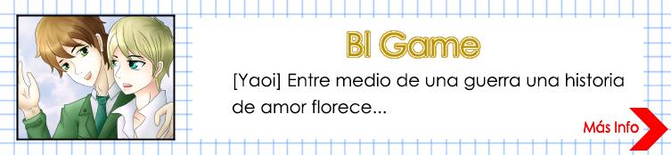 Bl Game: [YAOI] Entre medio de una guerra una historia de amor florece...
