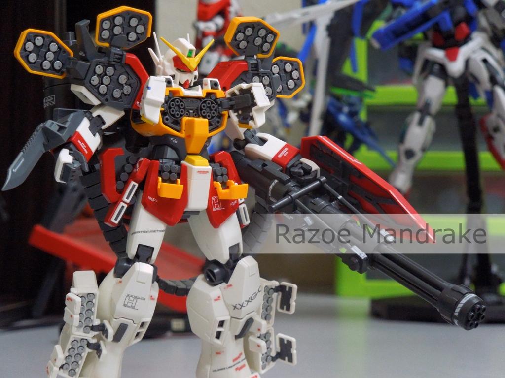 Heavyarms Weaponary by Razoe85