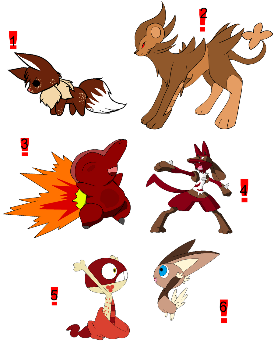 Pokemon food adopts 2 free by feralx1 on deviantart for Pokemon cuisine