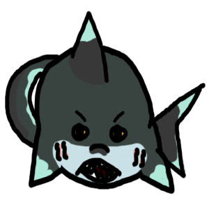 RolyPoly Shark Adopt - Adopted by Feralx1