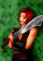 OC Leya Teegan Whispers (Concept art) by Ro4le