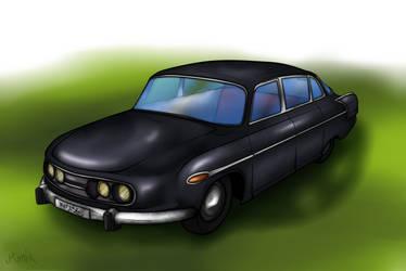 Tatra 603 by Ro4le