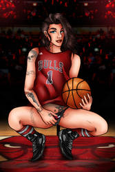 Bulls fangirl by Ro4le
